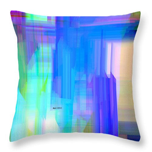Throw Pillow - Abstract 962