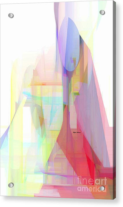 Acrylic Print - Abstract 9625