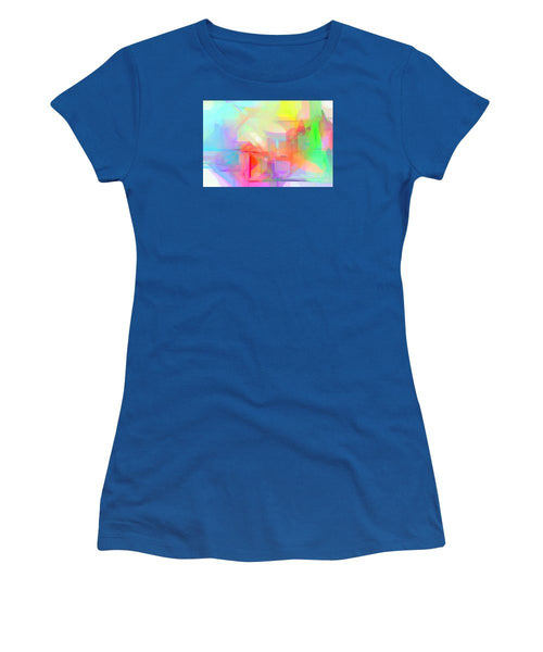 Women's T-Shirt (Junior Cut) - Abstract 9627-001