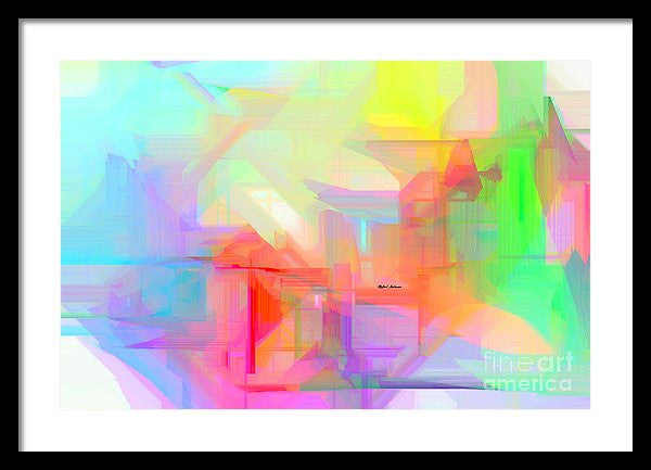 Framed Print - Abstract 9627-001