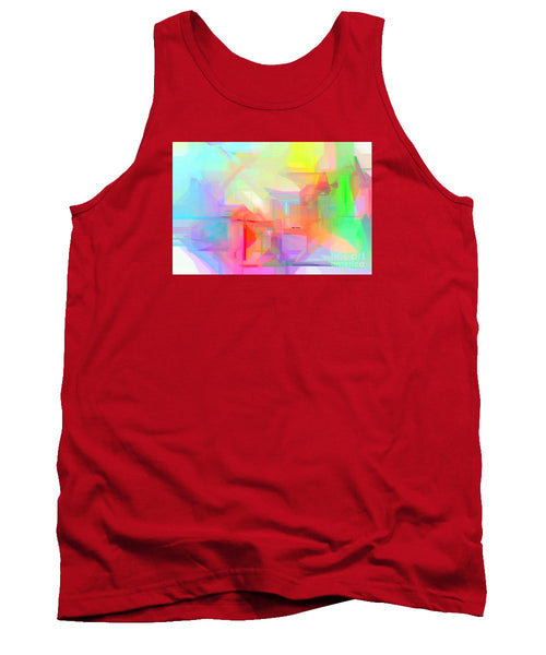 Tank Top - Abstract 9627-001