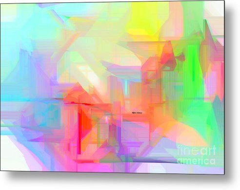 Metal Print - Abstract 9627-001