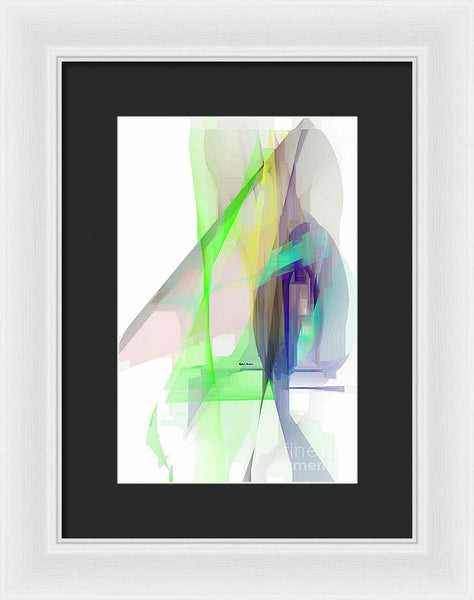 Framed Print - Abstract 9627