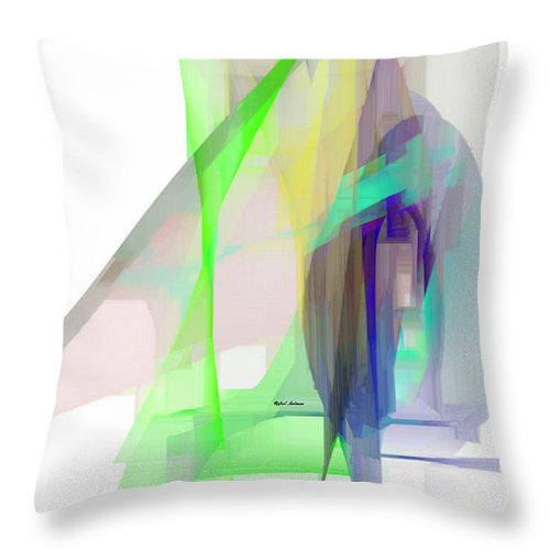 Throw Pillow - Abstract 9627