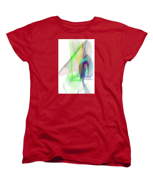 Women's T-Shirt (Standard Cut) - Abstract 9627