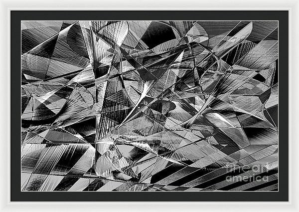 Framed Print - Abstract 9637