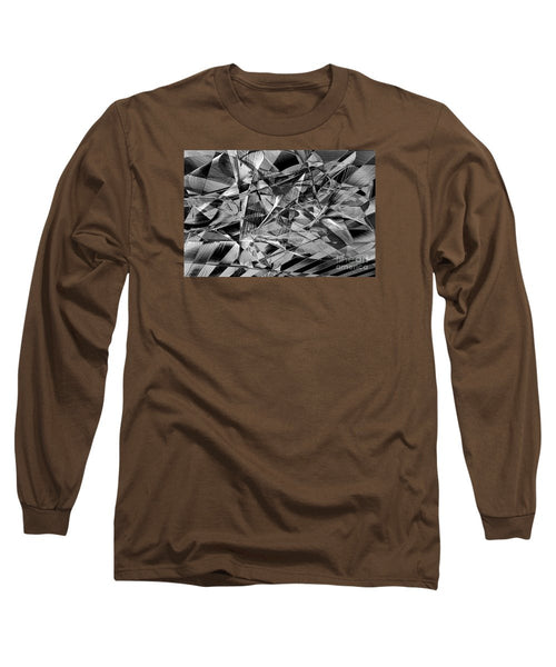 Long Sleeve T-Shirt - Abstract 9637