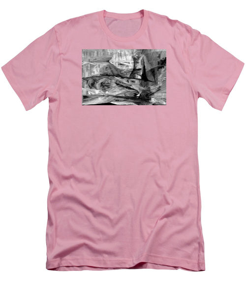 Men's T-Shirt (Slim Fit) - Abstract 9640