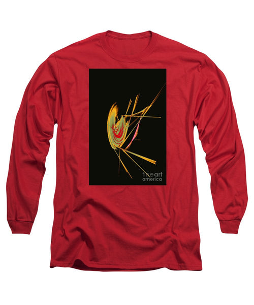Long Sleeve T-Shirt - Abstract 9644