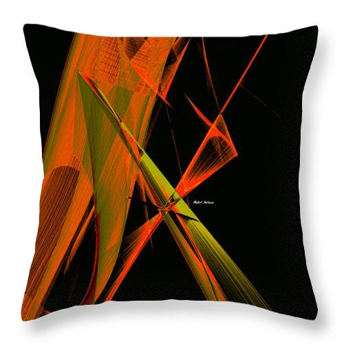 Throw Pillow - Abstract 9645