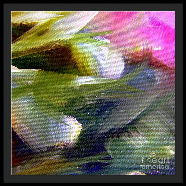 Framed Print - Abstract 9646