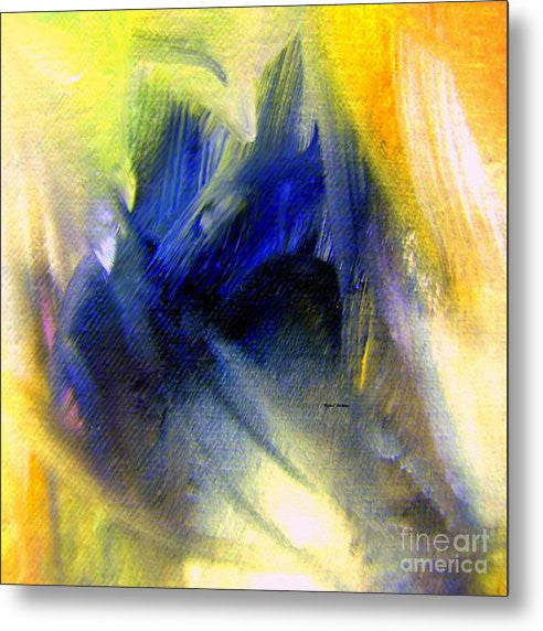 Metal Print - Abstract 9649