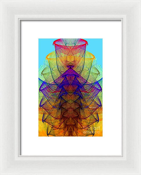 Framed Print - Abstract 9714