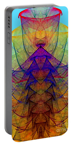 Portable Battery Charger - Abstract 9714