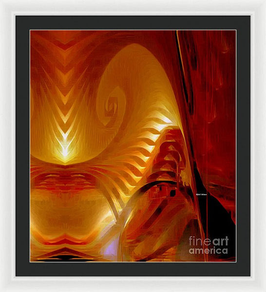 Framed Print - Abstract 9718