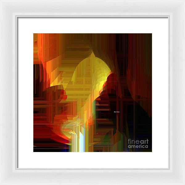Framed Print - Abstract 9721
