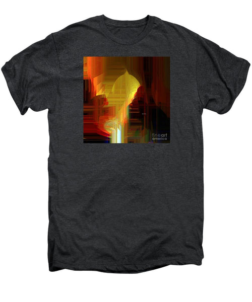 Men's Premium T-Shirt - Abstract 9721