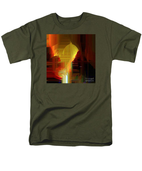 Men's T-Shirt  (Regular Fit) - Abstract 9721
