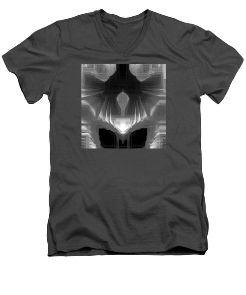 Men's V-Neck T-Shirt - Abstract 9723