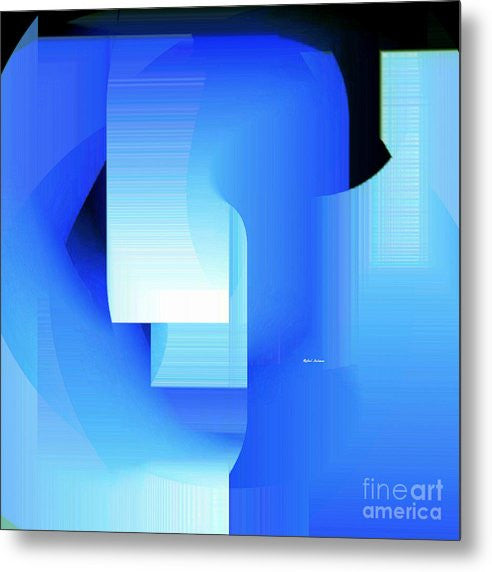 Metal Print - Abstract 9728