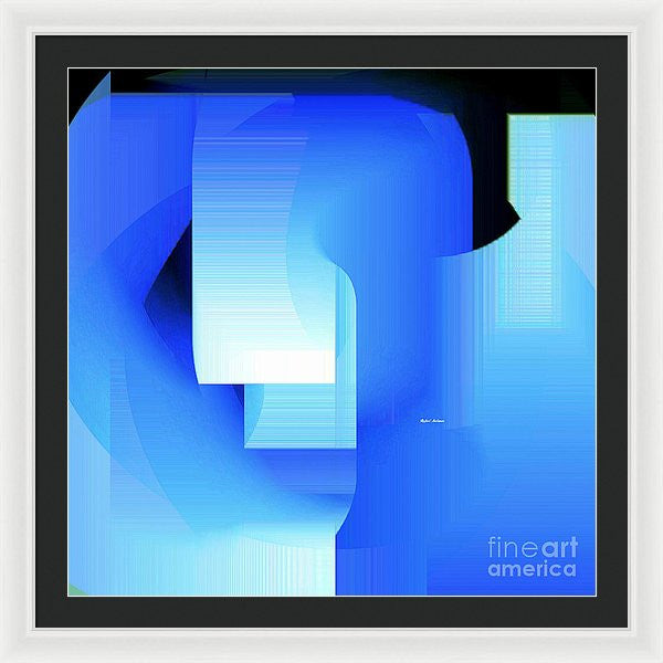 Framed Print - Abstract 9728