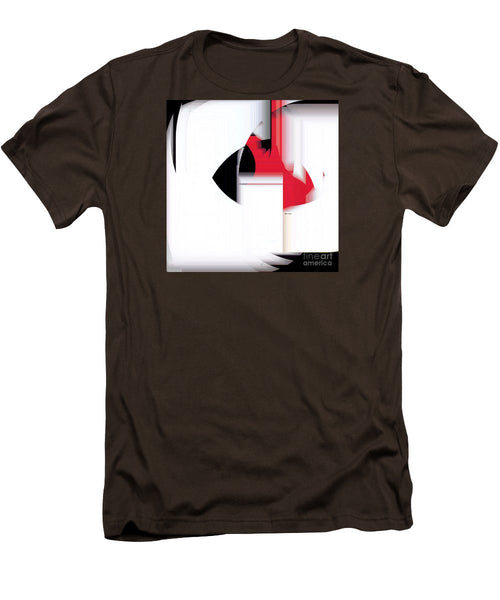Men's T-Shirt (Slim Fit) - Abstract 9733
