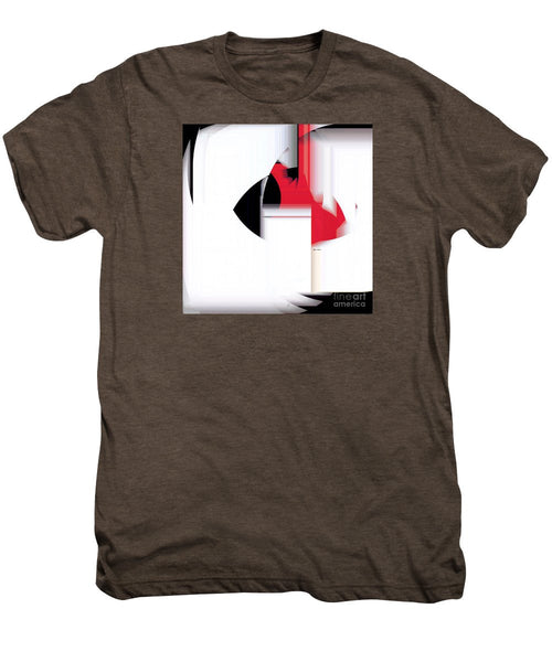Men's Premium T-Shirt - Abstract 9733