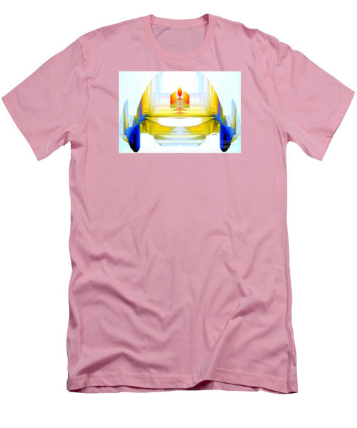 Men's T-Shirt (Slim Fit) - Abstract 9738