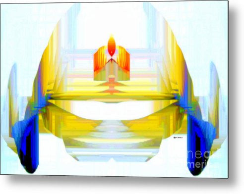 Metal Print - Abstract 9738