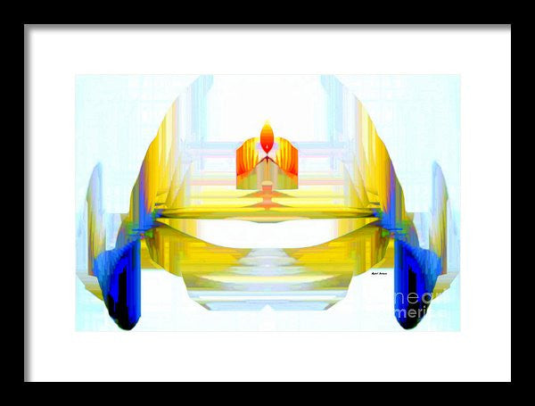 Framed Print - Abstract 9738