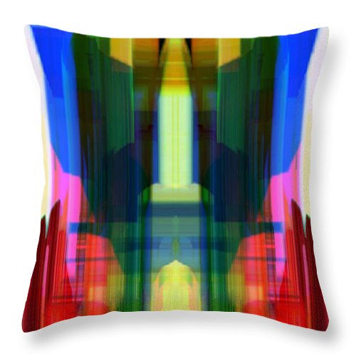Throw Pillow - Abstract 9739