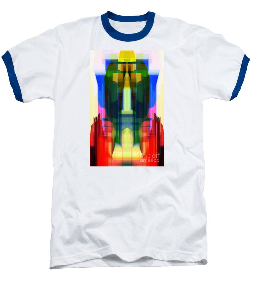 Baseball T-Shirt - Abstract 9739