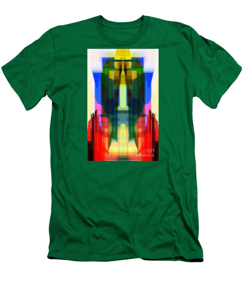 Men's T-Shirt (Slim Fit) - Abstract 9739