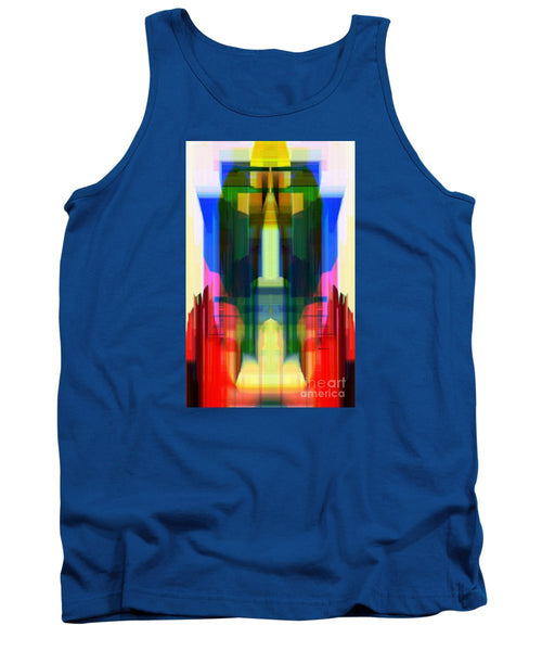 Tank Top - Abstract 9739