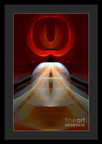 Framed Print - Abstract 9741