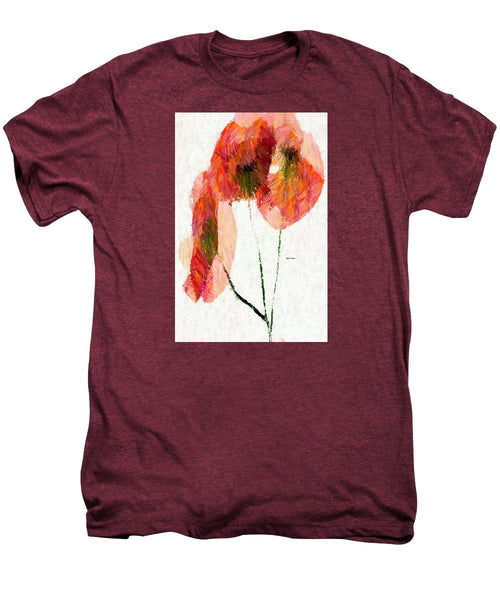 Men's Premium T-Shirt - Abstract Flower 0718