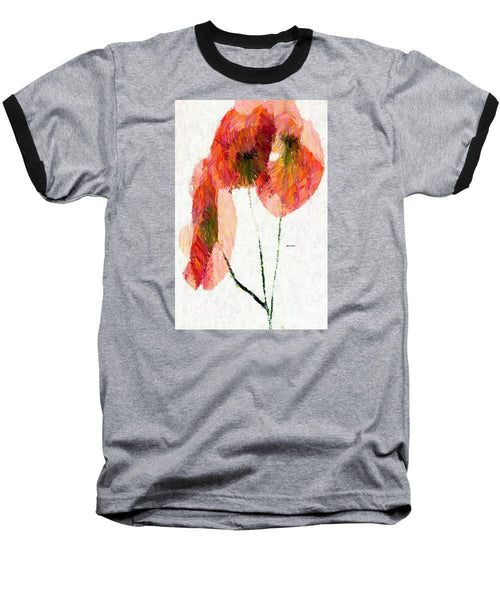 Baseball T-Shirt - Abstract Flower 0718