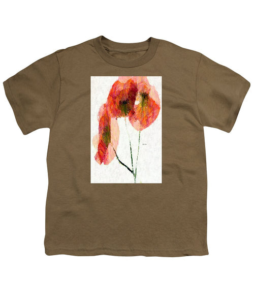 Youth T-Shirt - Abstract Flower 0718
