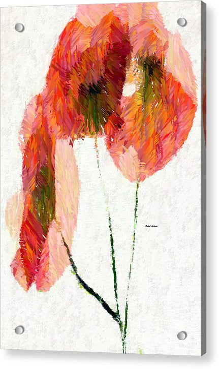 Acrylic Print - Abstract Flower 0718