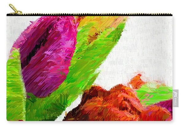 Carry-All Pouch - Abstract Flower 0722