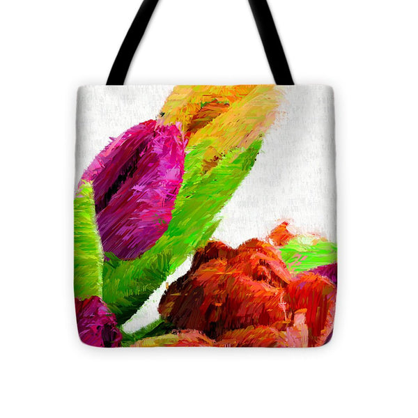 Tote Bag - Abstract Flower 0722