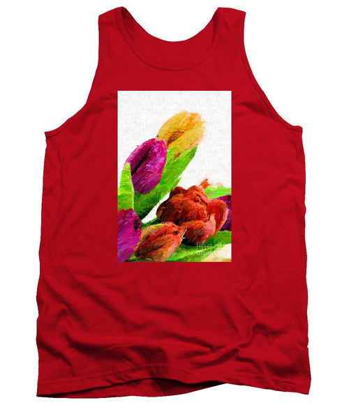 Tank Top - Abstract Flower 0722