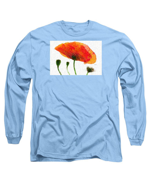 Long Sleeve T-Shirt - Abstract Flower 0723
