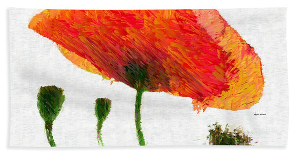 Towel - Abstract Flower 0723