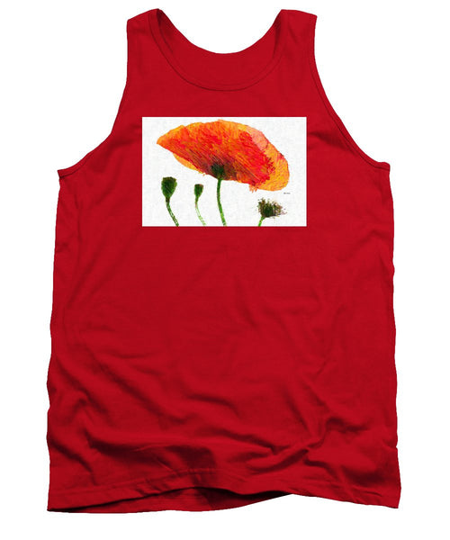 Tank Top - Abstract Flower 0723