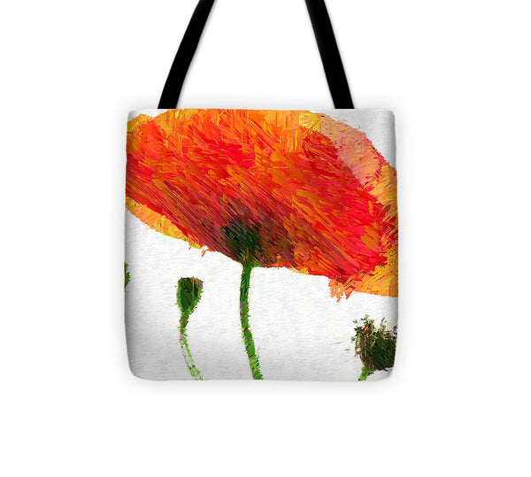 Tote Bag - Abstract Flower 0723