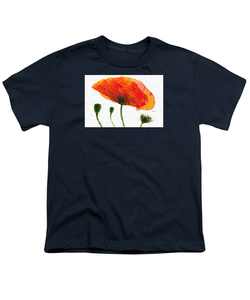 Youth T-Shirt - Abstract Flower 0723