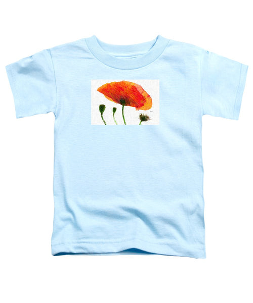 Toddler T-Shirt - Abstract Flower 0723