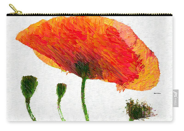 Carry-All Pouch - Abstract Flower 0723