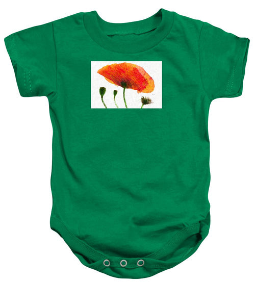 Baby Onesie - Abstract Flower 0723